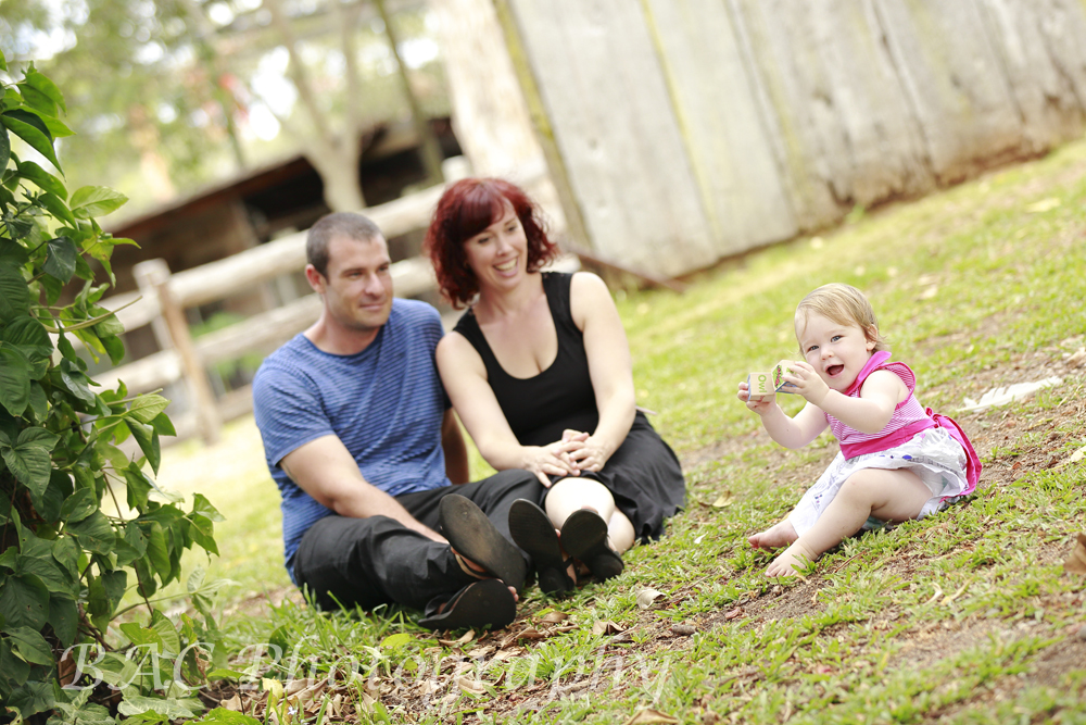 Old Petrie Town Family Portrait Photography