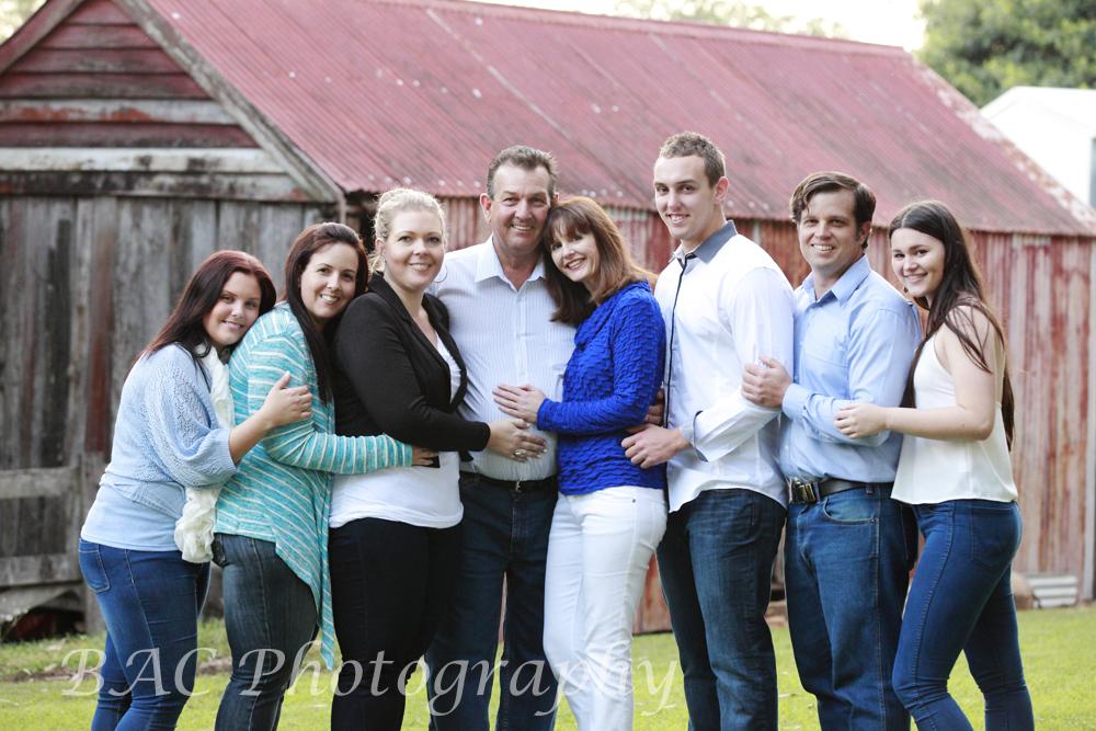 Large Group Family Portrait