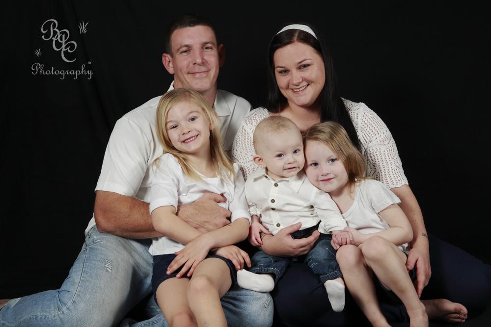 Brisbane Studio Family Portrait Photo