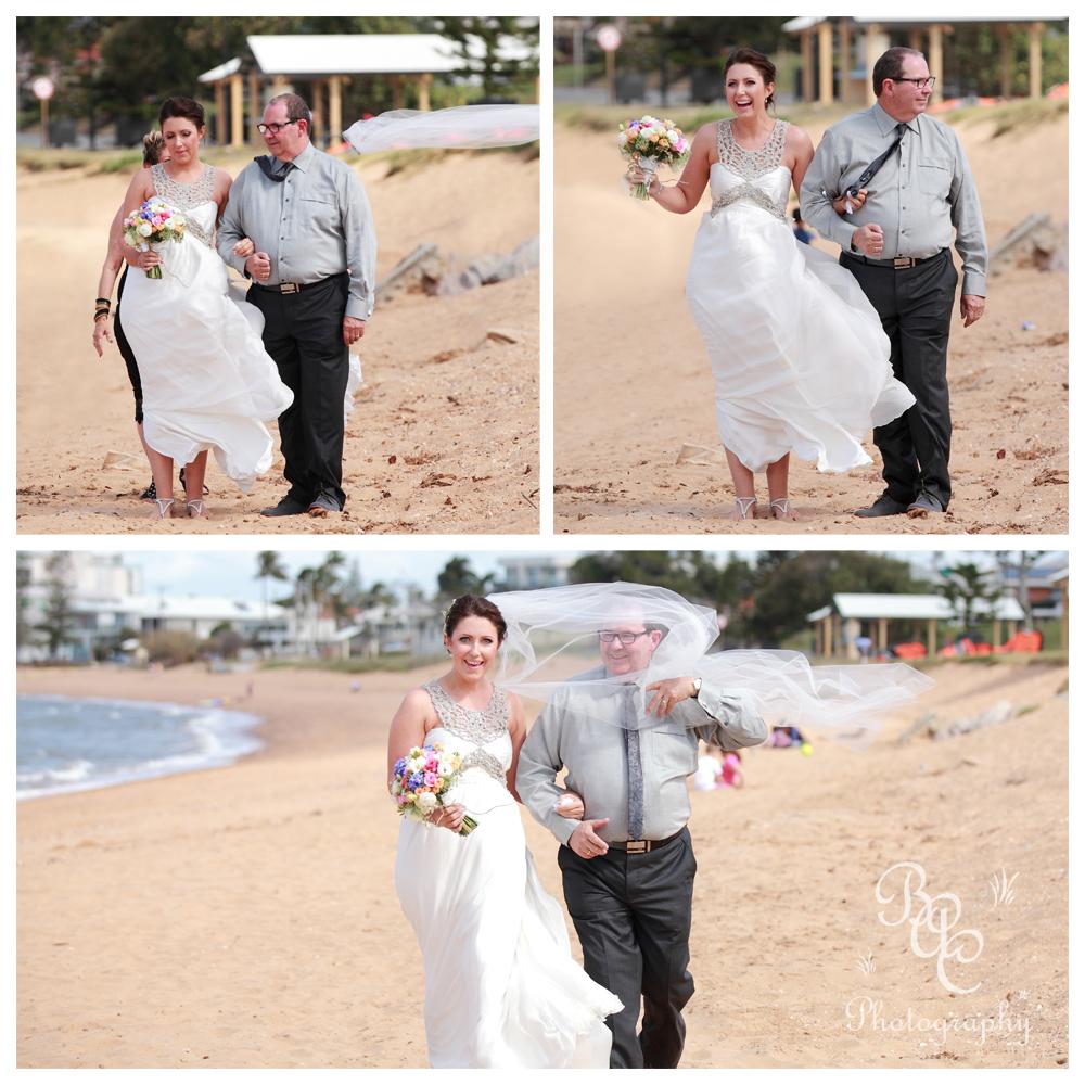 Redcliffe Beach Wedding Photography