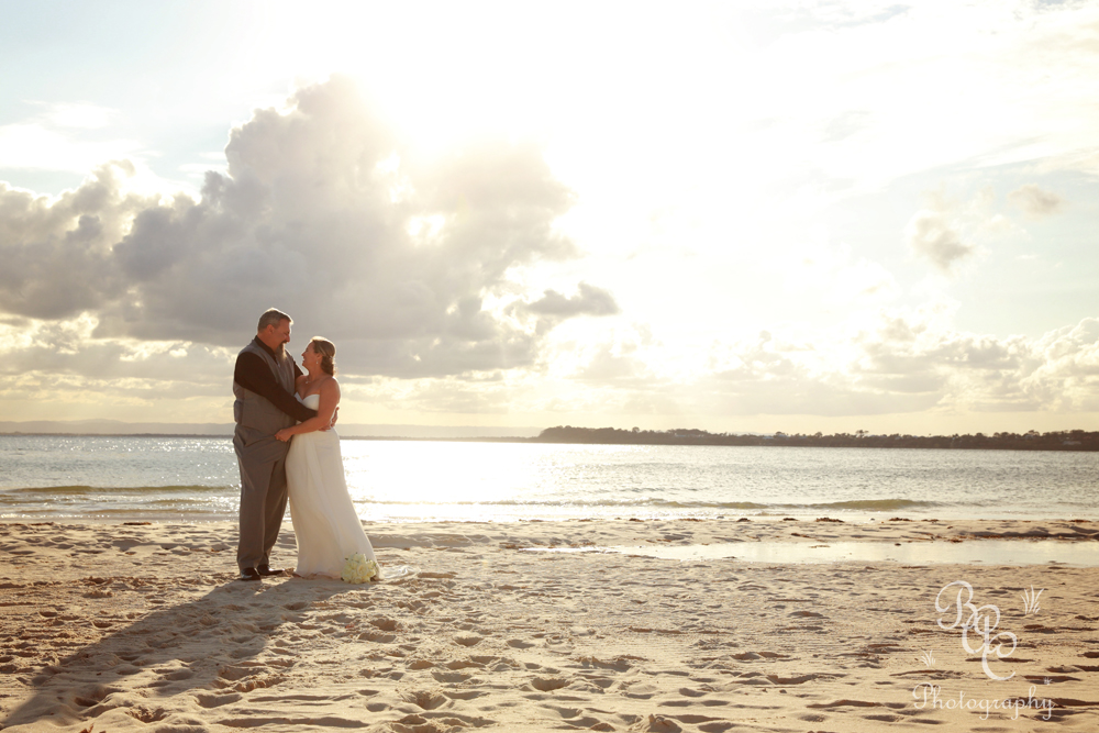Bribie Island Beach Wedding Photography