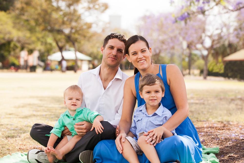 New Farm Park Family Photographer