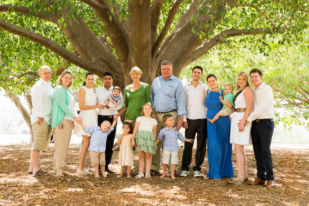New Farm Park Family Photographer
