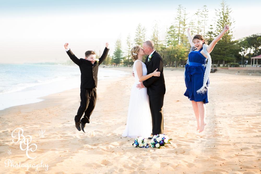 Suttons Beach wedding photographer