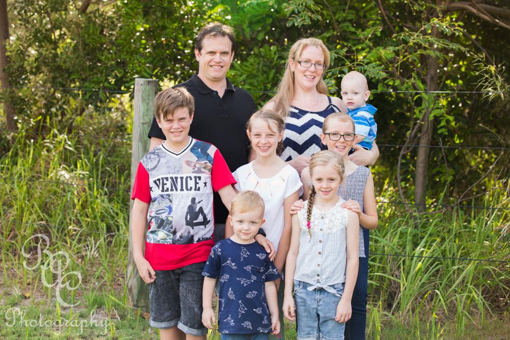 Bribie Island Family Portrait