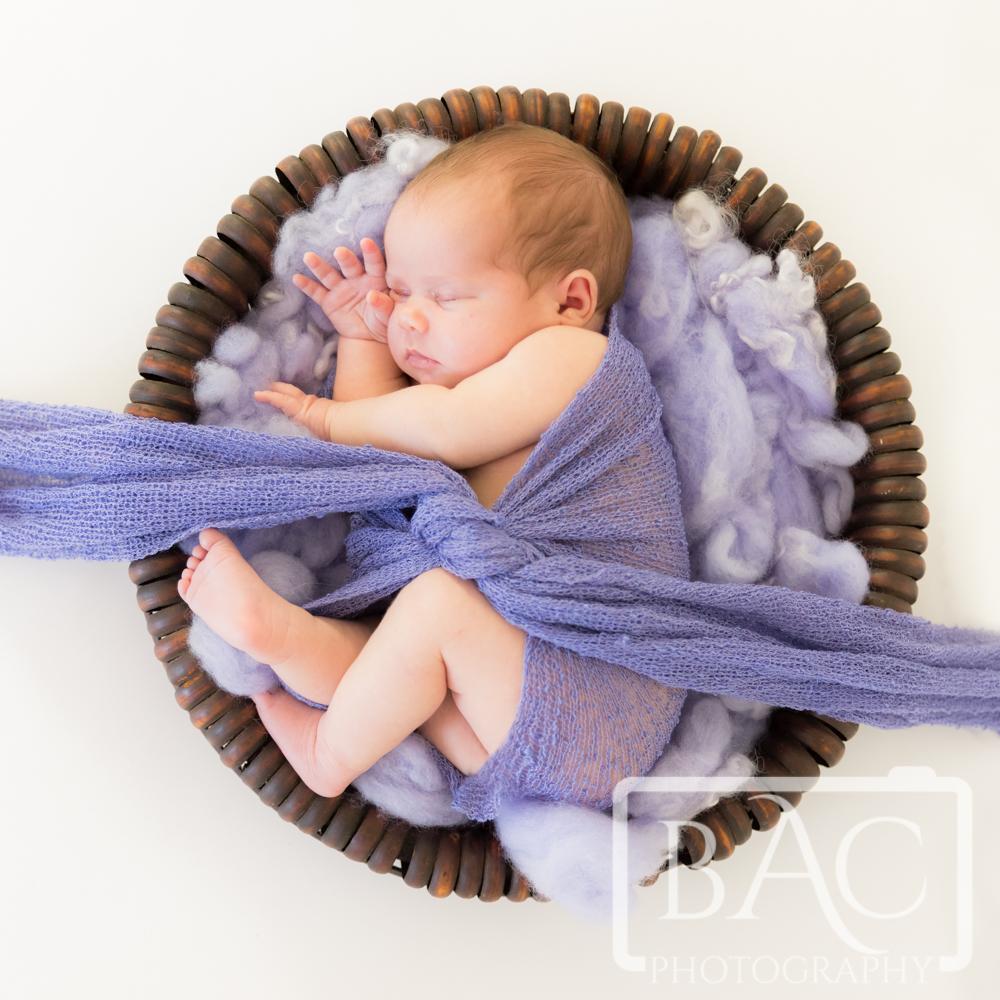 North Lakes Studio Newborn Portrait