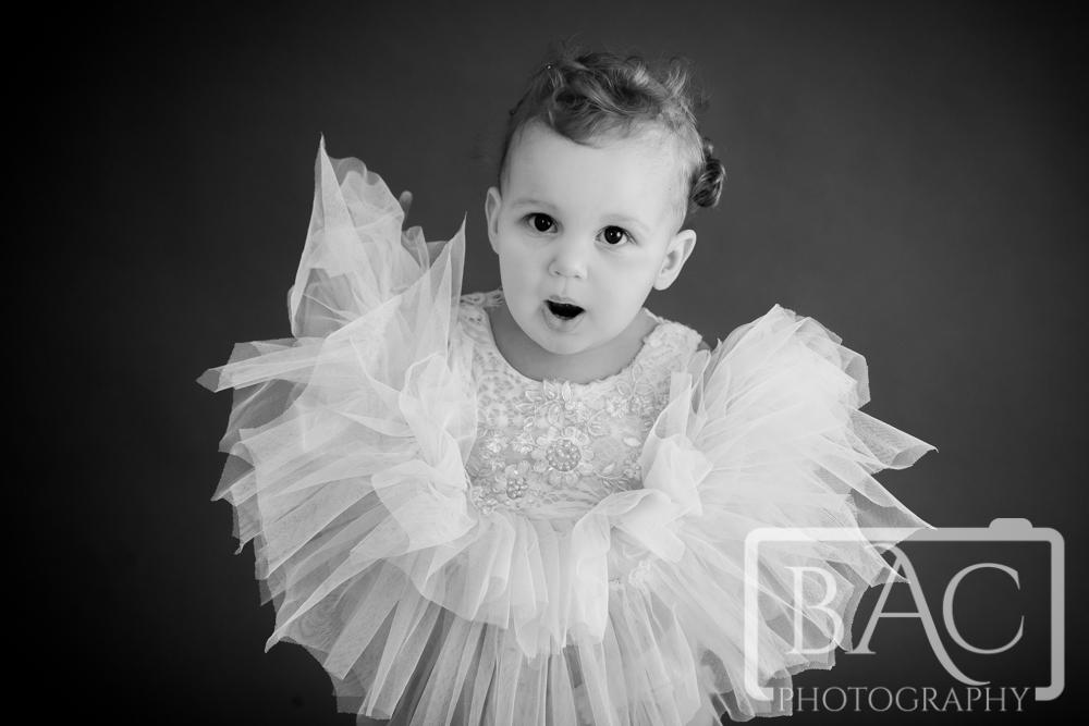 Little Ballerina Childrens Portrait