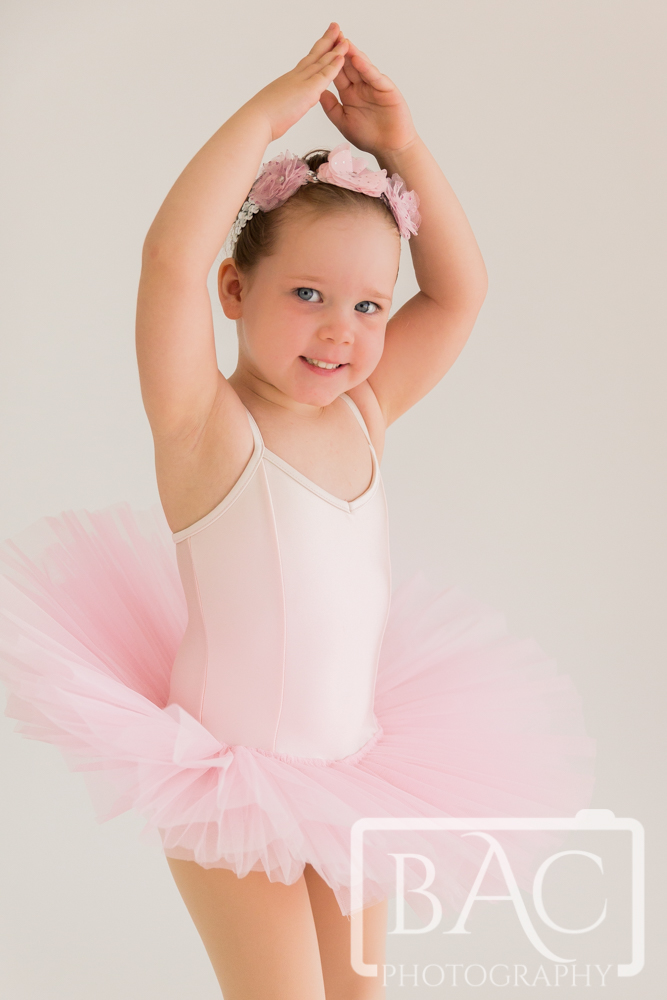 Little ballerina children's portraits brisbane