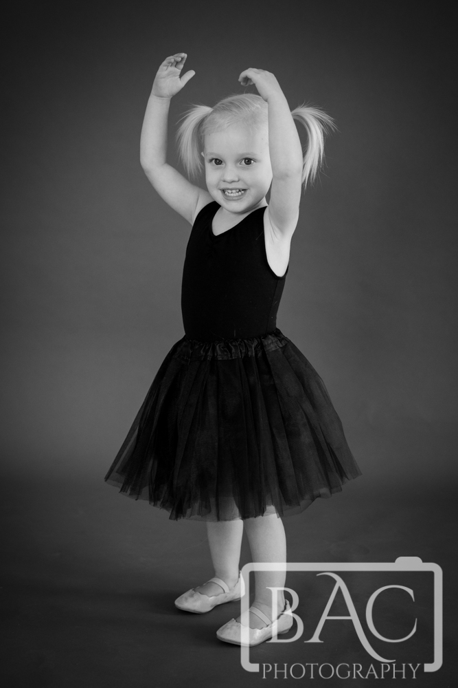 Little Ballerina Portrait Photography