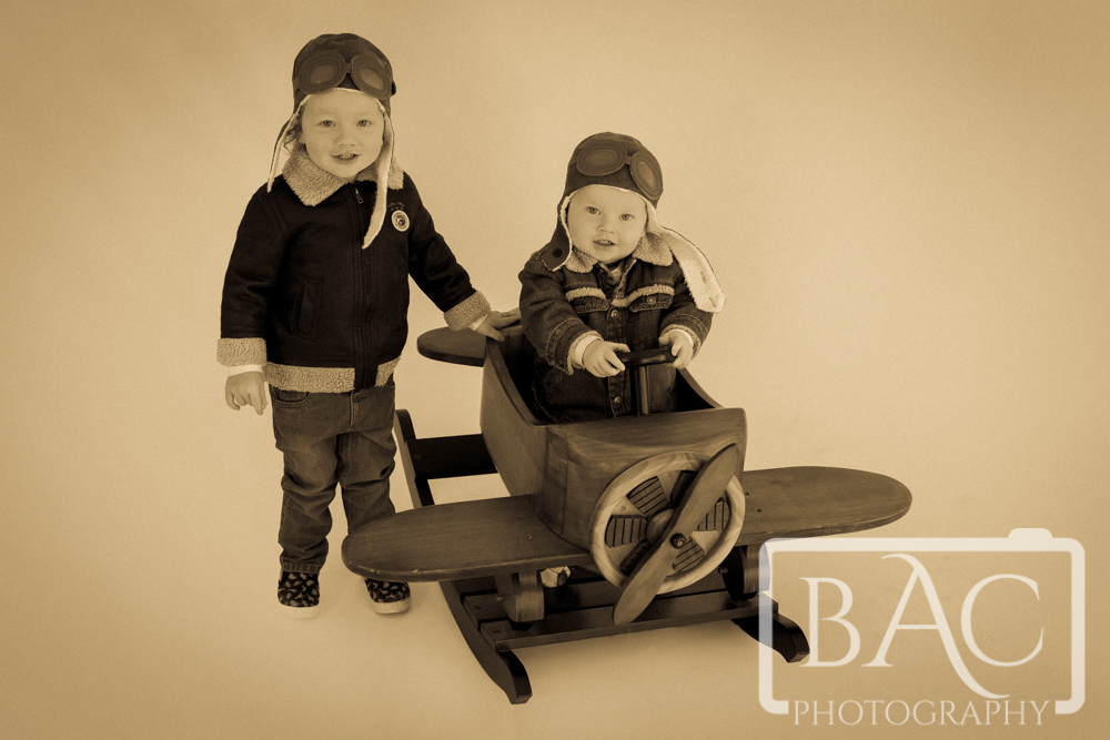 Little Aviator childrens portraits Brisbane