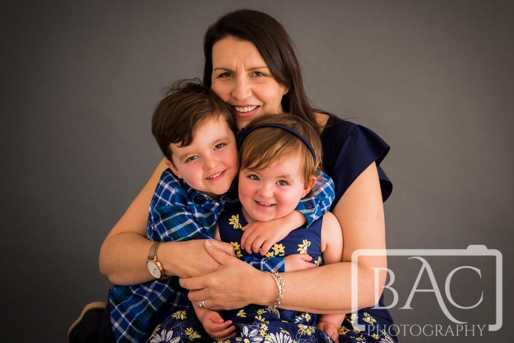 Brisbane Studio Family Portrait