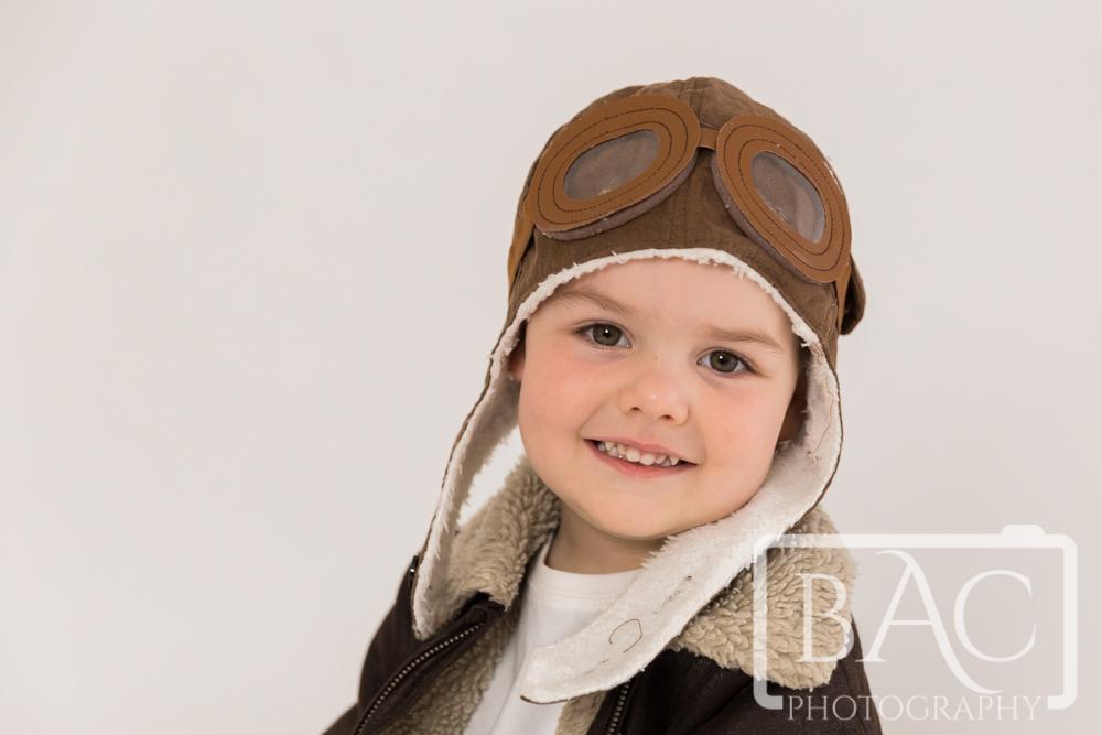 Little Aviator Brisbane Children's Portrait