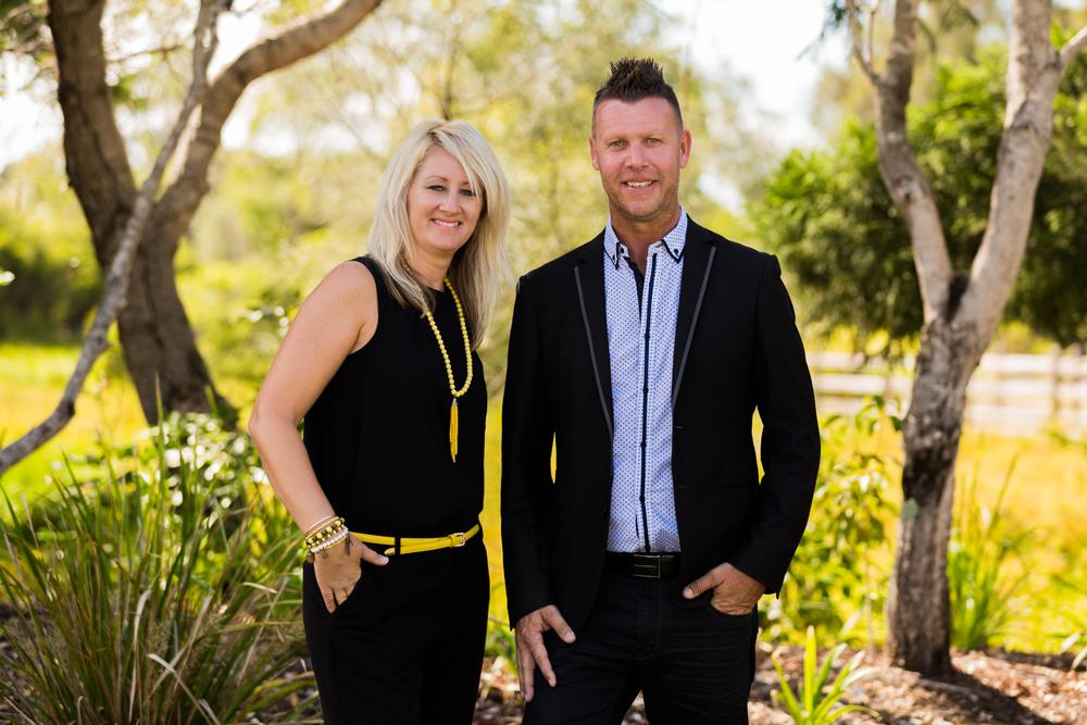 Couples Business Portrait North Lakes