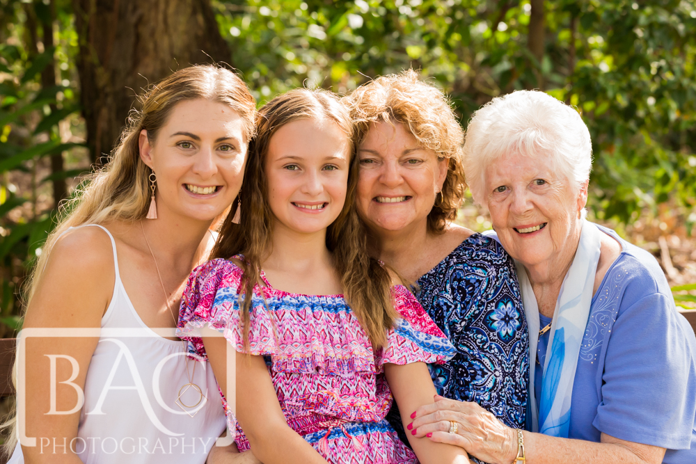 Redcliffe Botanic Gardens Family Portrait