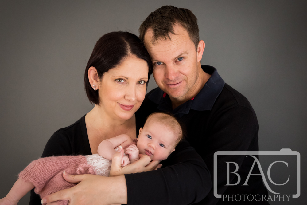 North Lakes Newborn Studio Portrait
