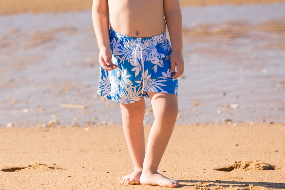 Commercial Portrait Childrens swimwear young boy