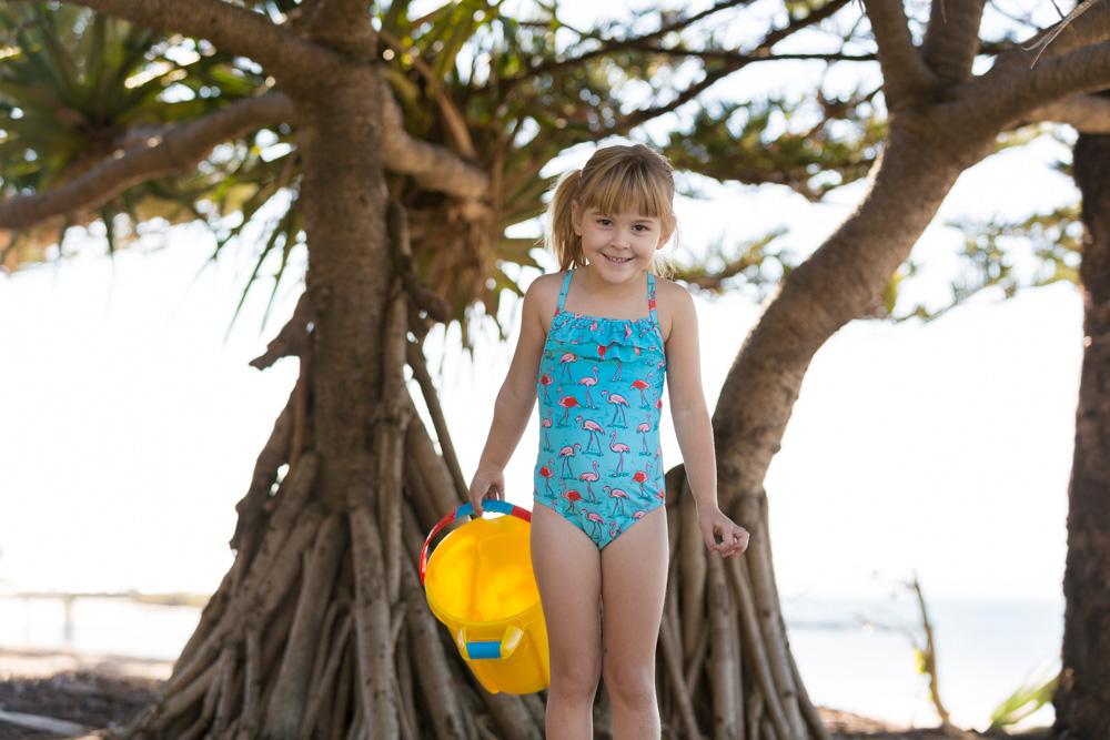 Commercial Portrait girls swimwear