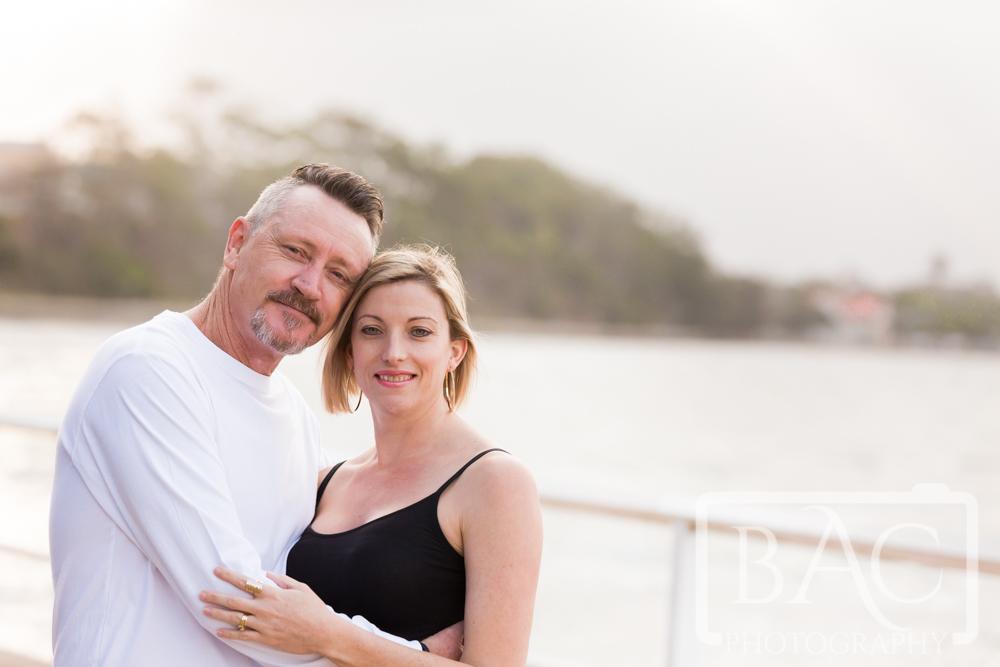 outdoor couples portrait Shorncliffe