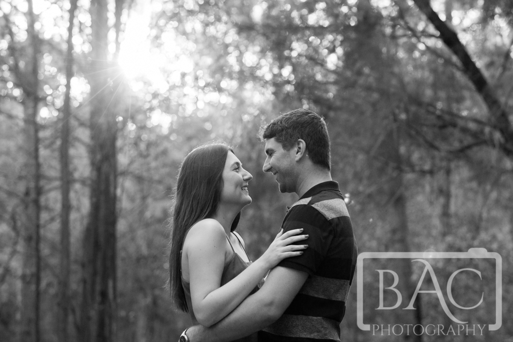 candid couples black and white portrait
