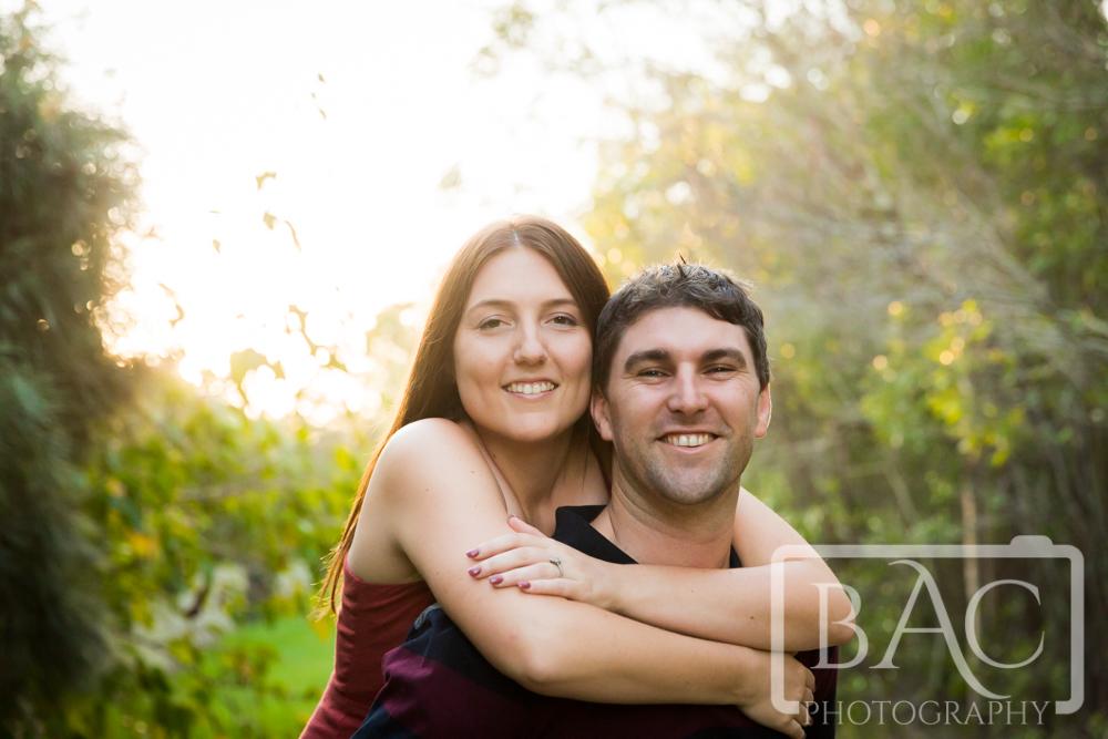 Couples Portrait piggy back