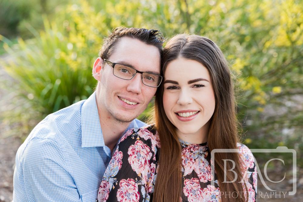 Couples outdoor portrait