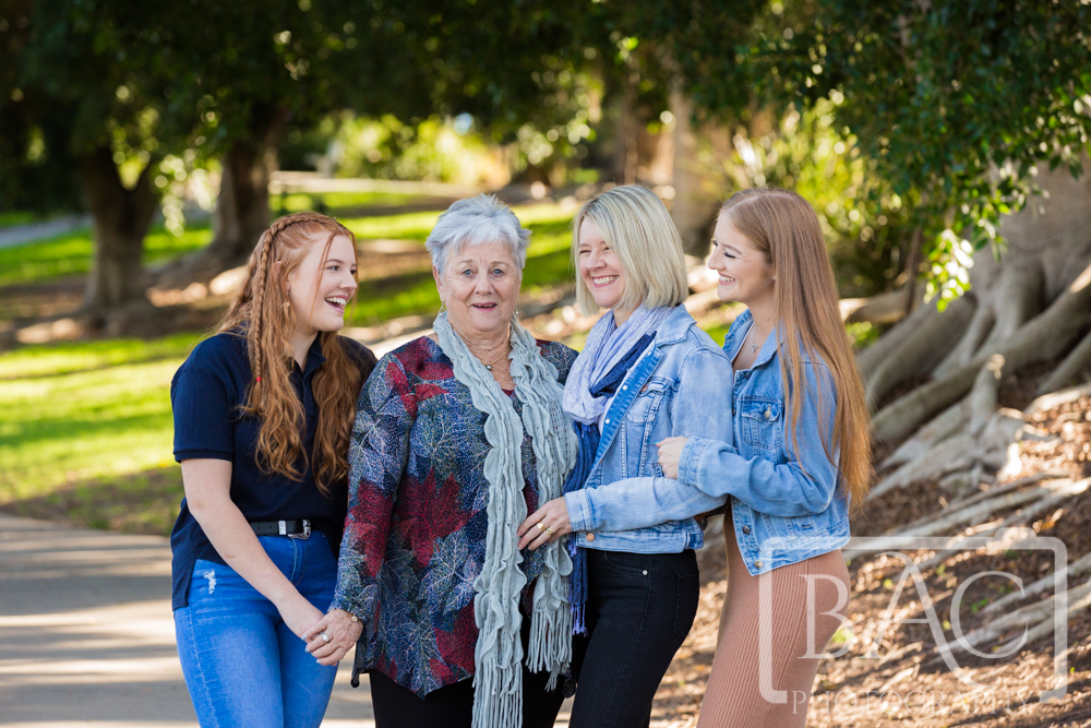 All the girls 3 generations portrait
