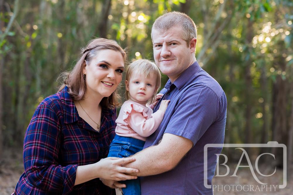 Outdoor family portrait Deception Bay