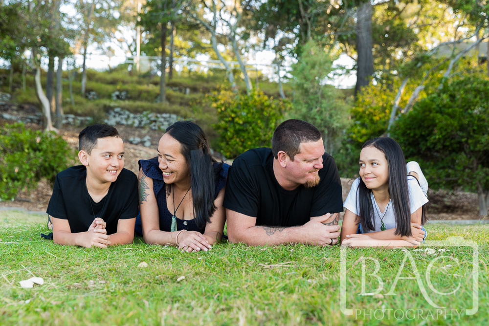Candid Outdoor family portrait Shorncliffe