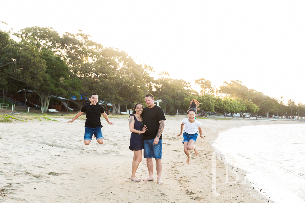 Fun Outdoor family portrait Shorncliffe