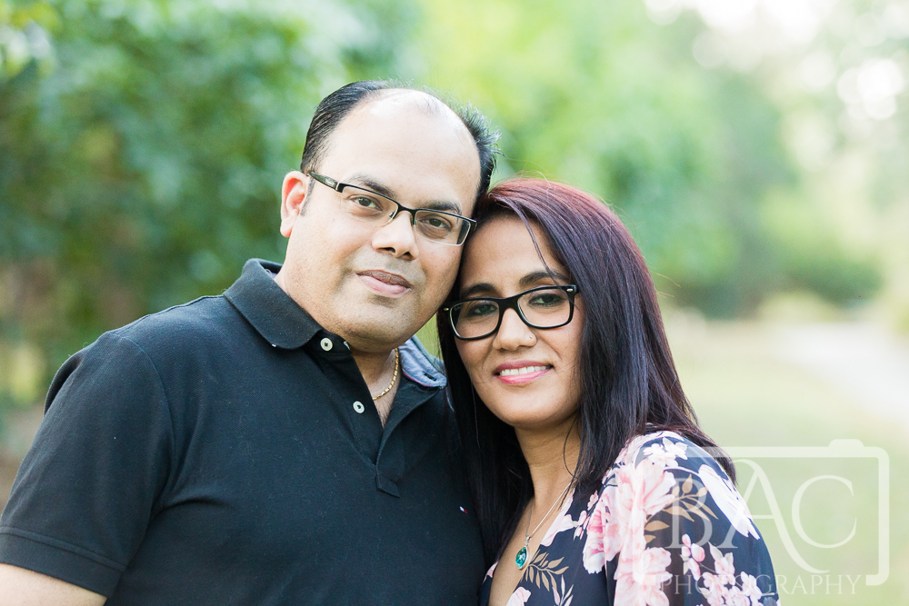 Husband and wife portrait outdoor