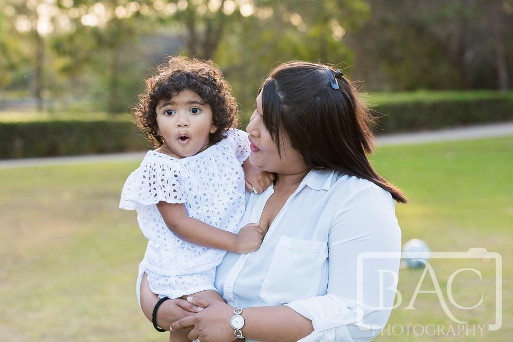 Mum and daughter portrait