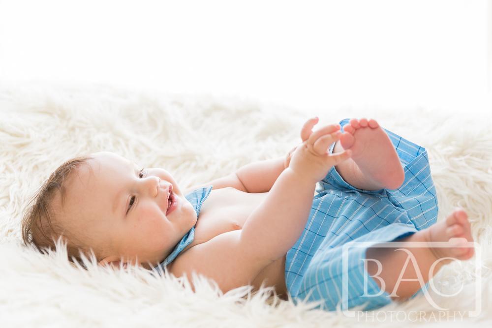 baby portrait in studio