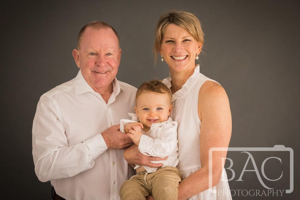 grandparents and grandson portrait