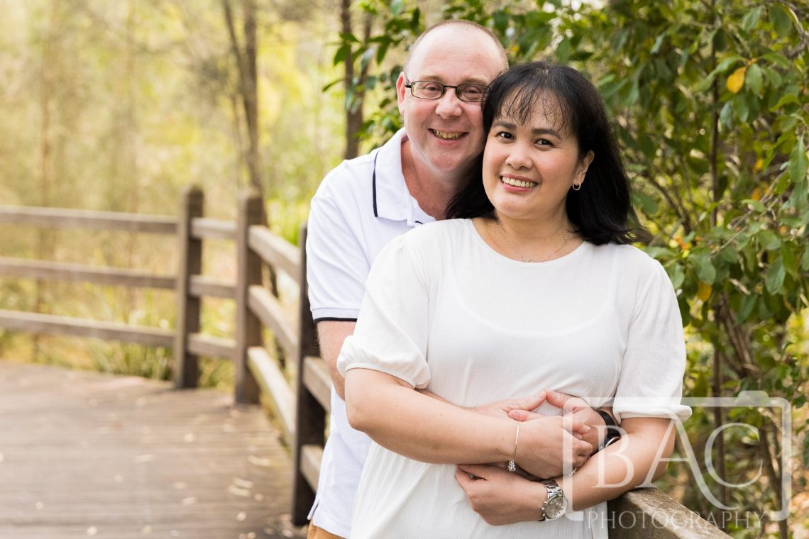 beautiful couples portrait in north lakes