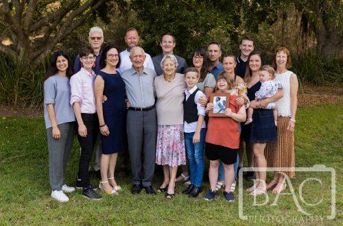 17 people generations outdoor portrait