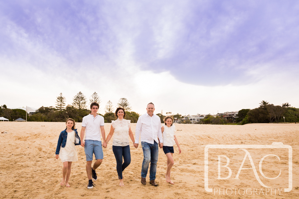 national family portrait month family on beach