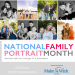 national family portrait month collage official photographer